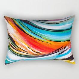 Mouvement d'energie Rectangular Pillow
