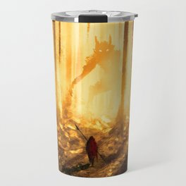 Let's wander in the forest... Travel Mug