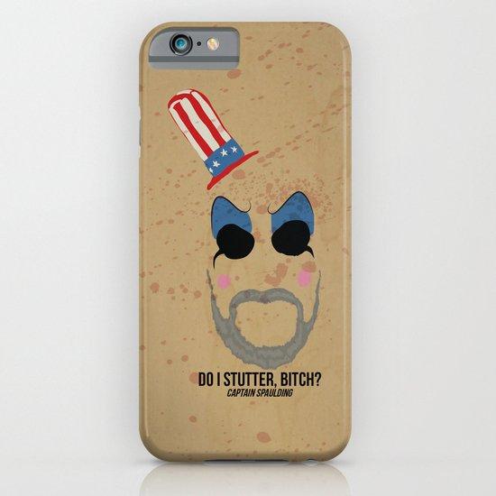 Captain Spaulding iPhone & iPod Case