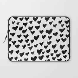 Shay & Moon - Hearts Laptop Sleeve