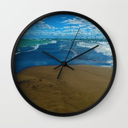 The point of Point Pelee National Park, Canada Wall Clock