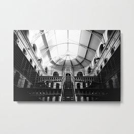 Kilmainham Gaol Metal Print