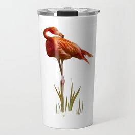 The Florida Flamingo Travel Mug