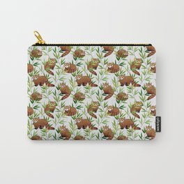 Red Panda Pattern Carry-All Pouch