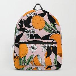 Orange blossom Backpack