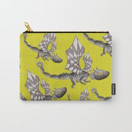 Lemons and dragons pattern Carry-All Pouch