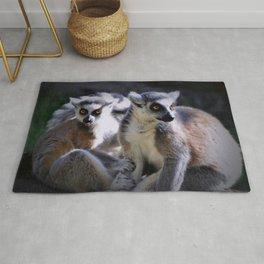 Ring-tailed Lemur Monkeys Rug