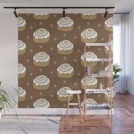 Cinnamon Bun Wall Mural