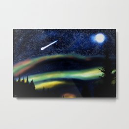 Shooting Star Metal Print