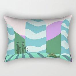 Turtle kawai Rectangular Pillow