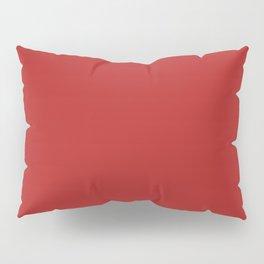 Firebrick - solid color Pillow Sham