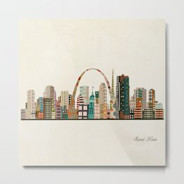 saint louis skyline Metal Print