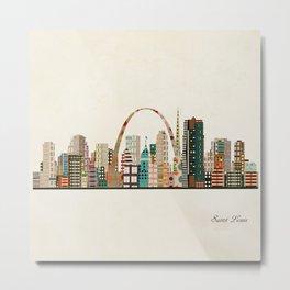 saint louis skyline Metal Print