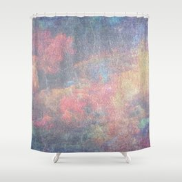 Grunge texture 9 Shower Curtain