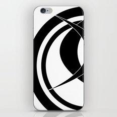 DJ Panzius (black) iPhone & iPod Skin