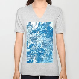 The sky is everywhere, it begins at your feet Unisex V-Neck