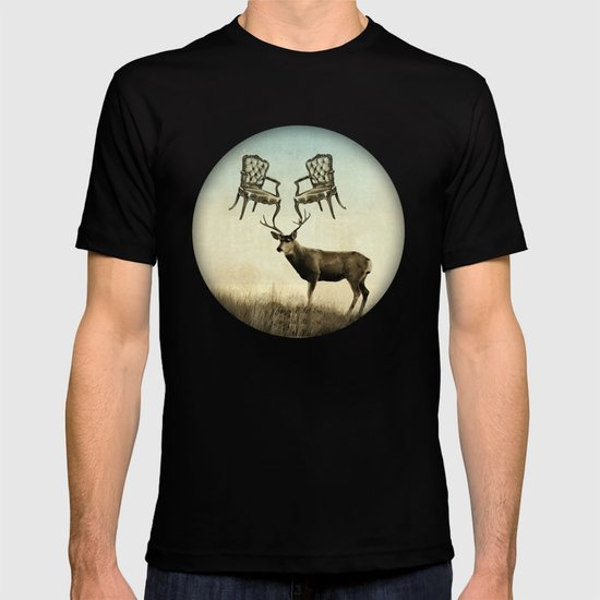 louis xv stag chairs T-shirt