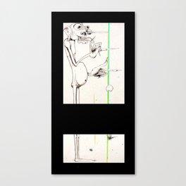 Mile's Warlock Canvas Print
