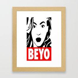 Beyo Framed Art Print