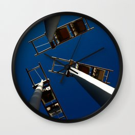 A Different Perspective Wall Clock