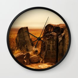 Tularosa view Wall Clock