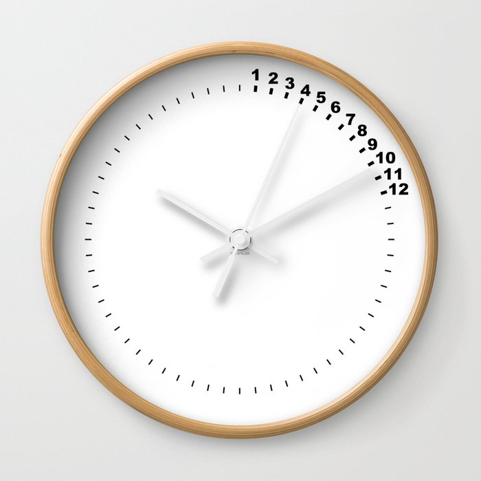 Every Second Matters Wall Clock