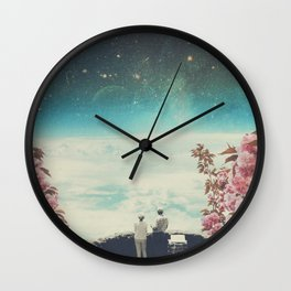 You Know we'll meet Again Wall Clock