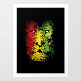 lion of zion Art Print