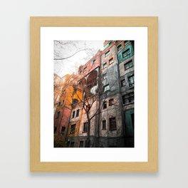 Hundertwasser 4 Framed Art Print