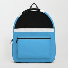 Botswana flag emblem Backpack