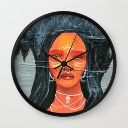 Ancient Watcher Wall Clock