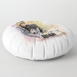 Dead Tired Floor Pillow