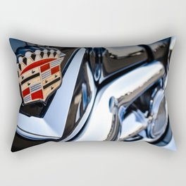 Caddy Emblem Rectangular Pillow