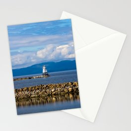 Lake Champlain. Burlington. Vermont. USA. Stationery Cards