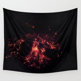 Burning Embers Wall Tapestry