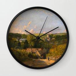 """John Constable """"Osmington Village"""" Wall Clock"""
