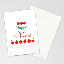 Rosh Hashanah or Jewish Near year greetings with fruit harvests Stationery Cards