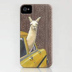 Taxi Llama iPhone (4, 4s) Slim Case