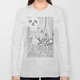Skulls & Buddha No. 25 Long Sleeve T-shirt