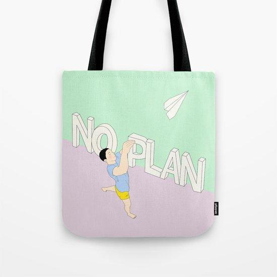 NO PLAN Tote Bag