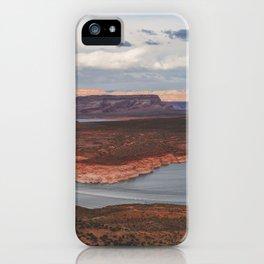 Cutting Through Lake Powell iPhone Case