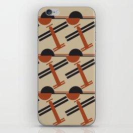 soviet pattern - constructivism iPhone Skin