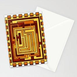 Sol - Geometric Art Deco Sun Stationery Cards