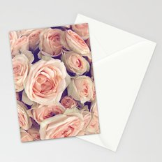 Pink Roses In A Bubble Stationery Cards
