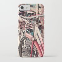 bicycles iPhone & iPod Cases featuring Bicycles by Yolanda Méndez