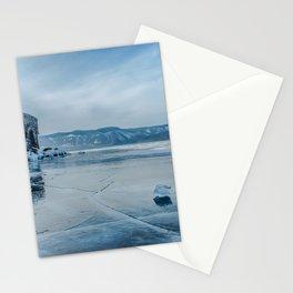 Lake Baikal. March Stationery Cards