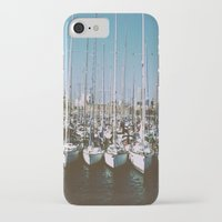 boats iPhone & iPod Cases featuring Boats by usfromars