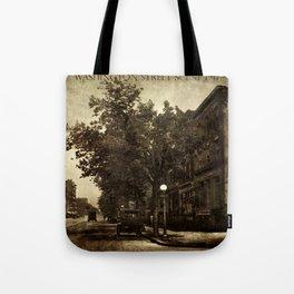 Washington Street Scene Tote Bag