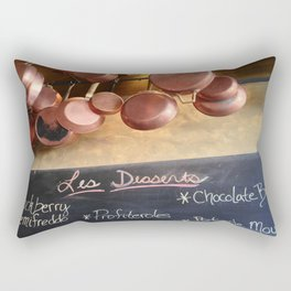 La Byciclette de France Rectangular Pillow