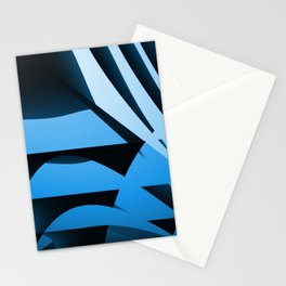 Blue Mystery Stationery Cards